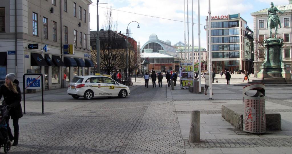 Östra Larmgatan mot Kungsportsplatsen
