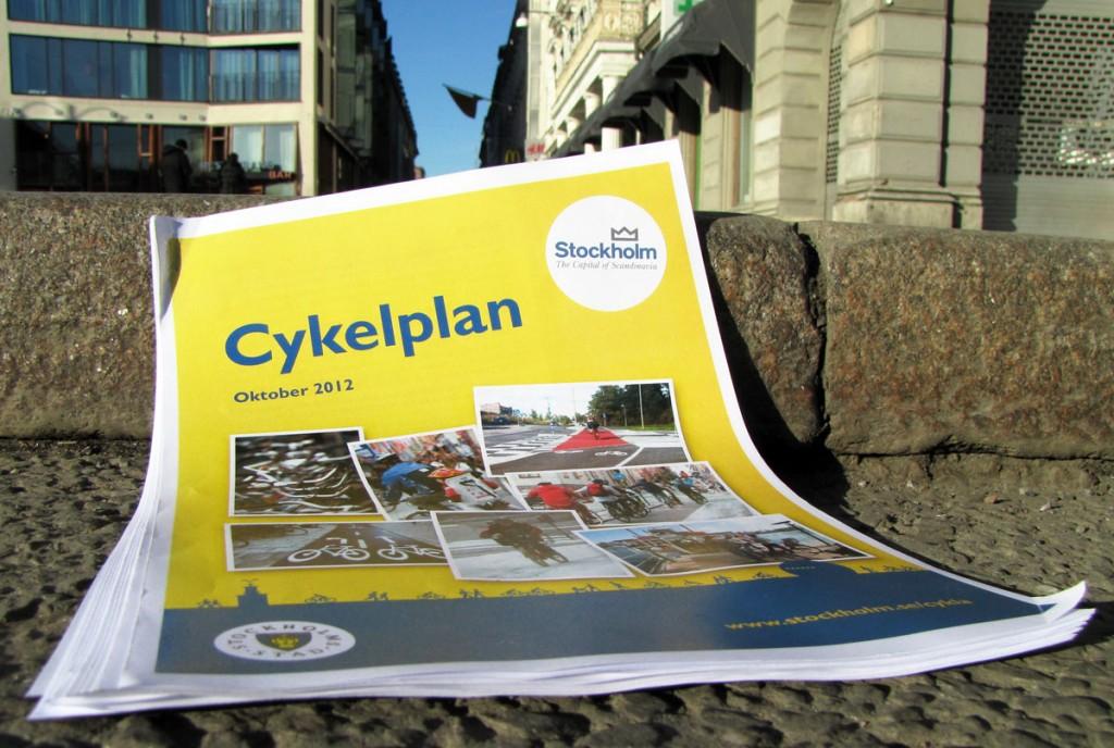 Stockholms cykelplan 2012