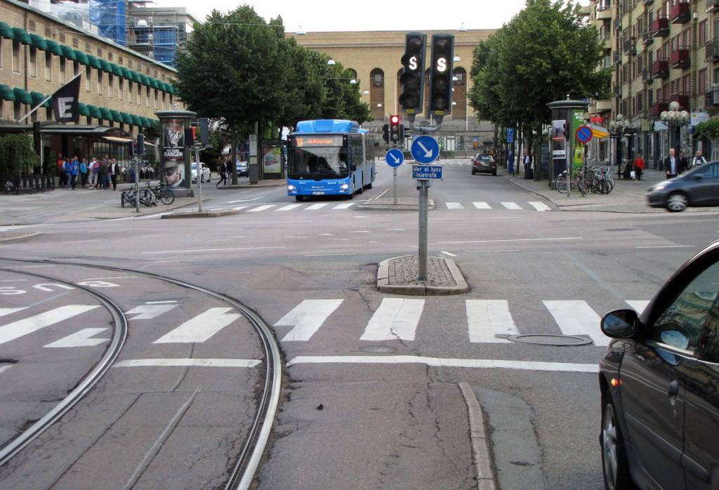 Trafiksignal på Avenyn /Engelbrektsgatan