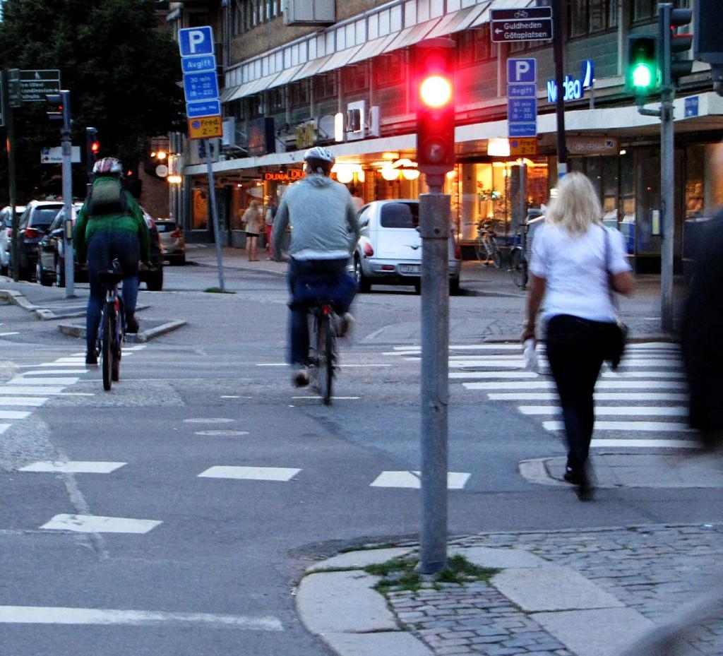 Berzeliigatans fientliga trafikström