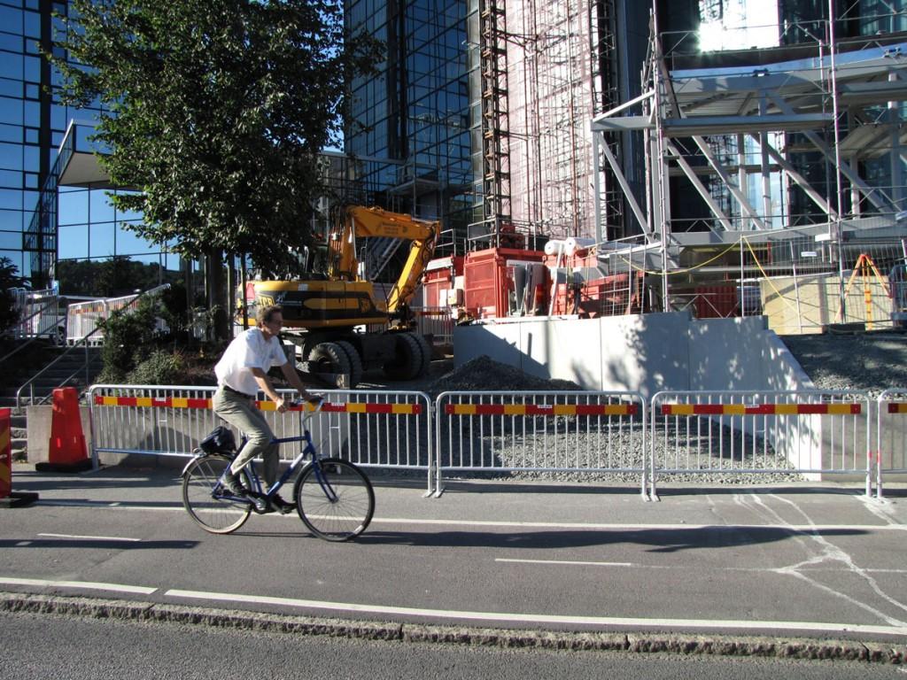 Ny abrupt uppfart till Gothia Towers