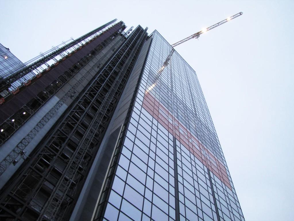 Toppkran på Gothia Tower nr 3