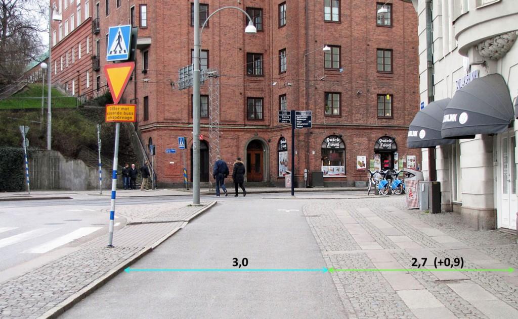 Korsvägens cykelbana