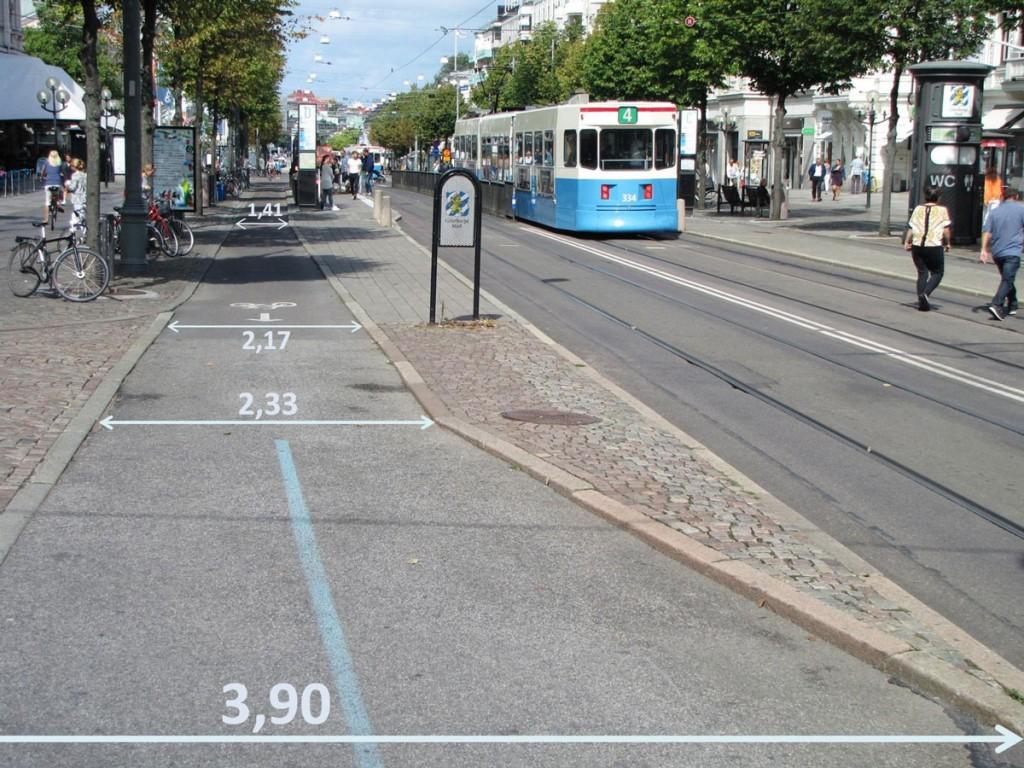 Avenyns teststräcka för omkörning