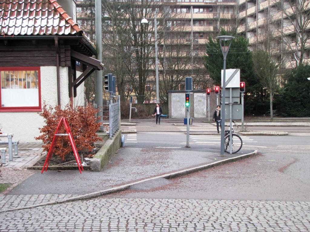 Chalmers nya cykelbana