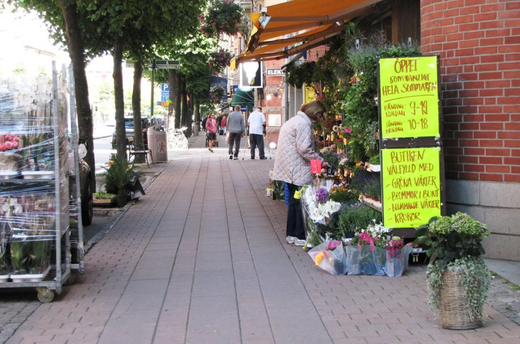 Linnegatans blomsterhandel