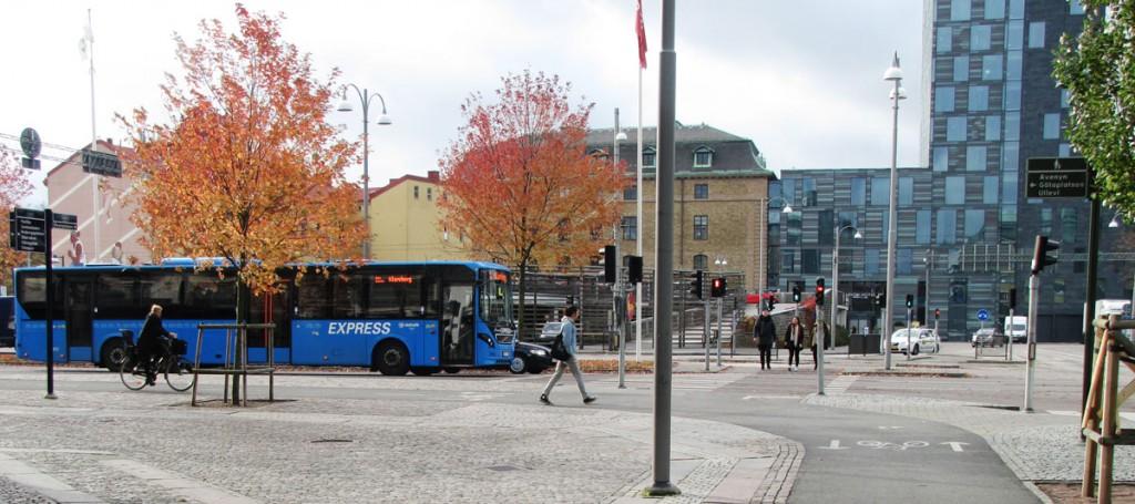 Centralen runt - Odinsgatan