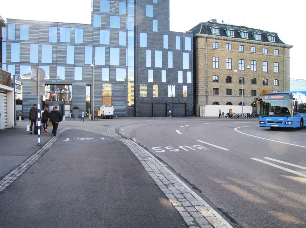 Centralen runt, via Posthotellets norra sida
