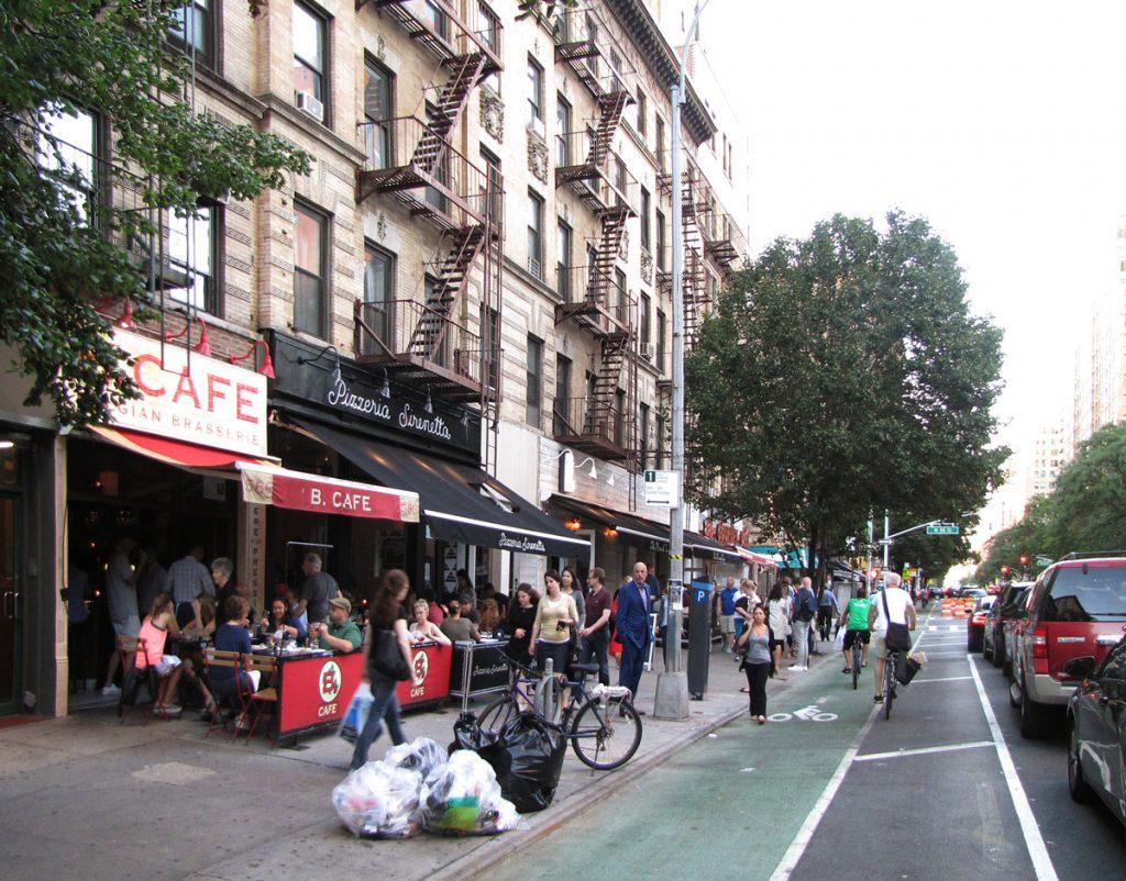 Amsterdam avenue vid 88 street