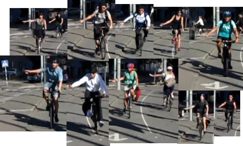 Cyklister mot Mölndal ger tecken