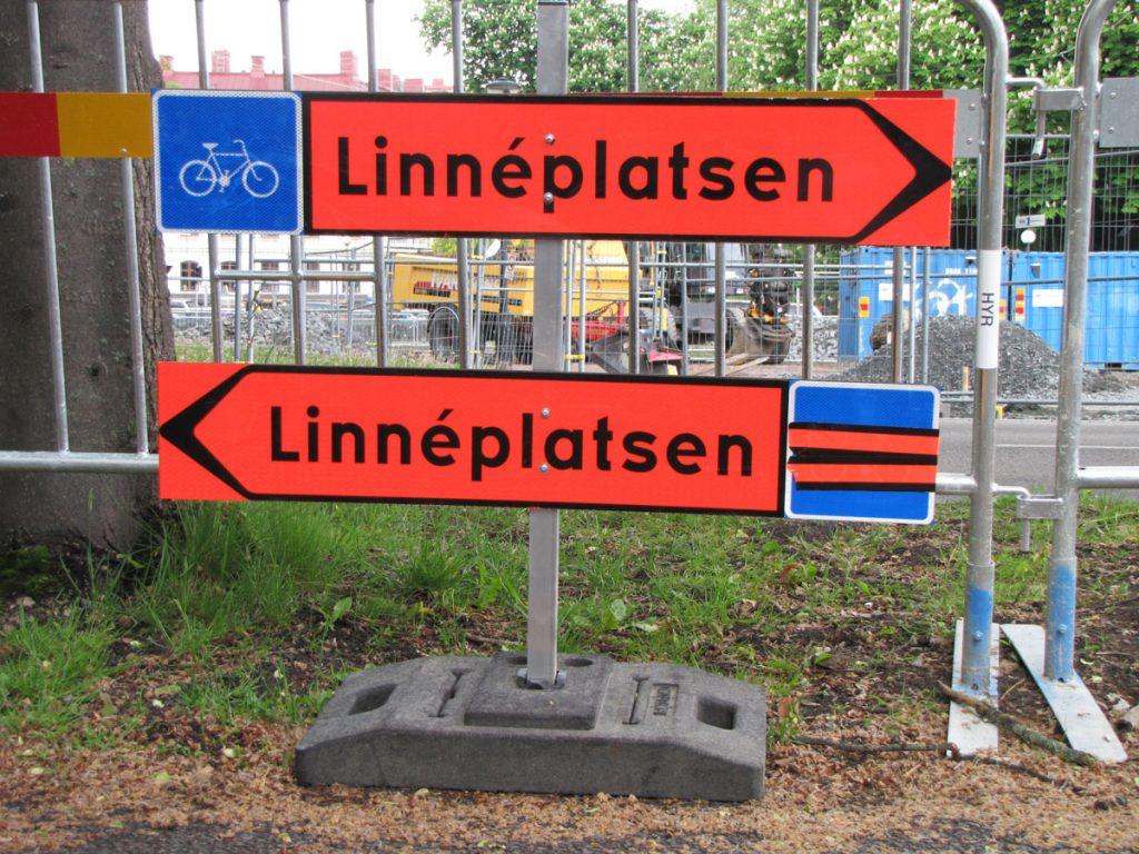 Allén vid Rosenlundsgångnen