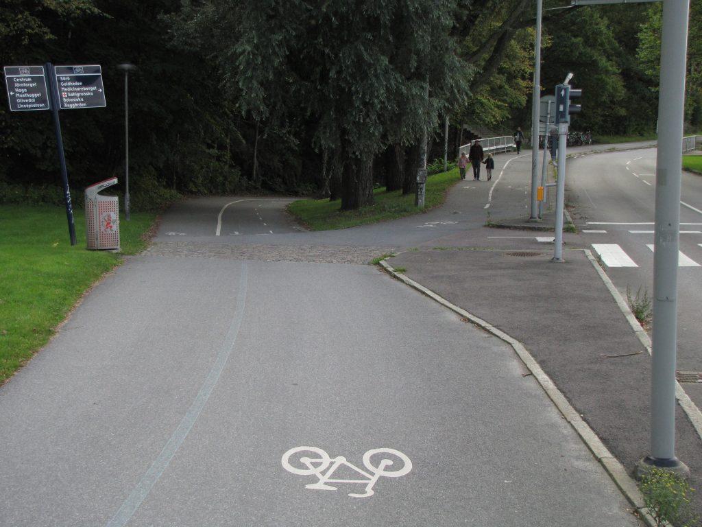 Annedalsmotets cykelförgrening
