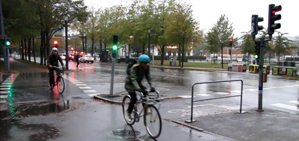 Allgrönt för cyklister!