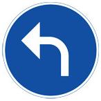 Påbudsmärke D1-4