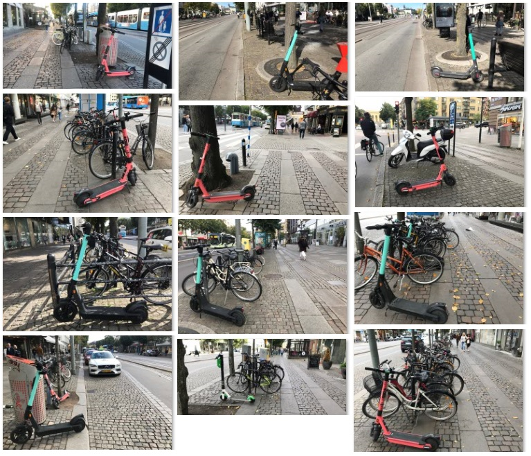 Bra sparkparkering på Avenyn och Östra Hamngatan