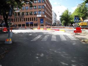 Gamla Allén: Bussinfart
