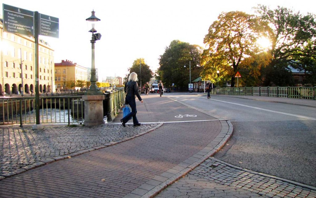 GC-brons anslutning till Slussgatan