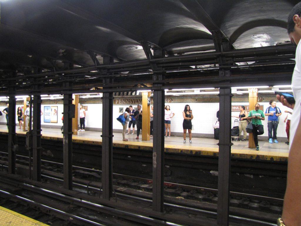 T-banestation i New York