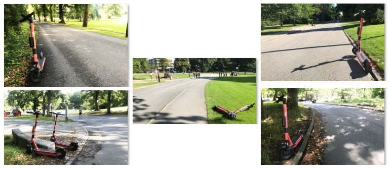 Bra sparkparkering i Slottsskogen