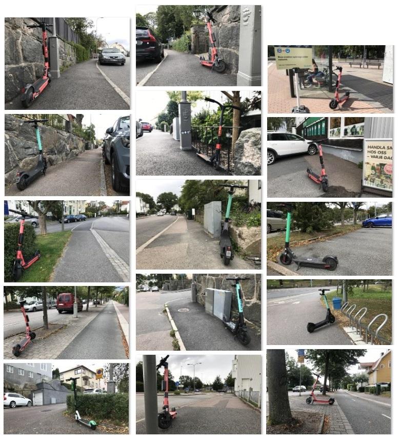 Bra sparkparkering i villastadskvarter