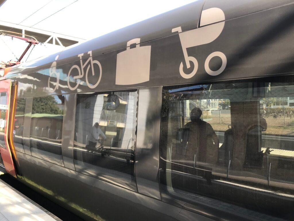 Öresundstågets cykelvagn