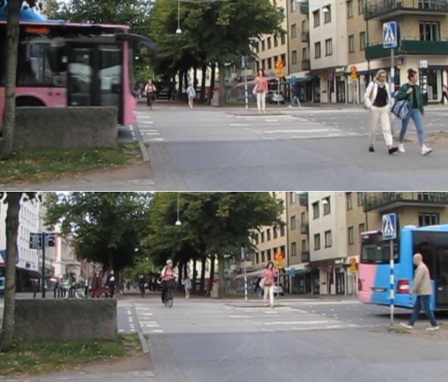 Korset Vasagatan-Södra Vägen, situation 2